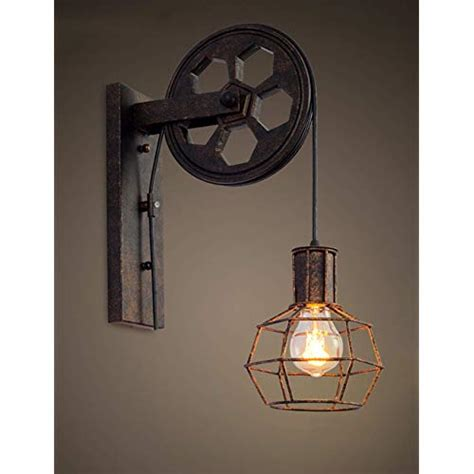 industrial wall lights amazon co uk