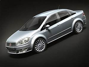 3d Model Fiat Linea 2009