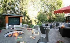 moderne ethanol feuerstelle sorgt fur romantik With feuerstelle garten mit der dieb auf dem balkon