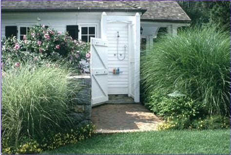 outdoor shower ideas for your garden