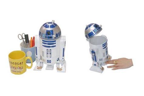 wars desk toys wars r2d2 desktop trash can