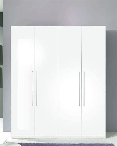 White 4 Door Wardrobe by 4 Door Wardrobe Blanca In White Modern Style Made In Italy