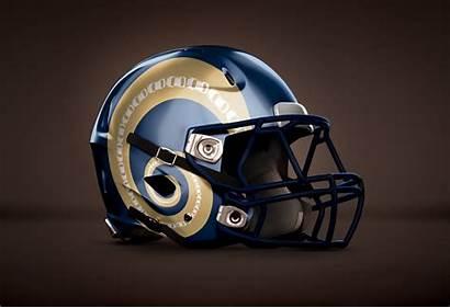Football Helmet Helmets American Rams Cool Nfl