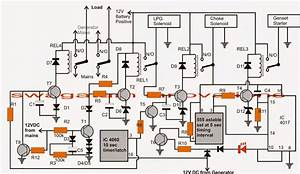 Manual Ups Wiring Diagram With Changeover Switch System