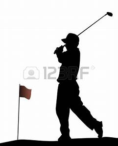 Siloute Golf Couple Clipart - Clipart Suggest