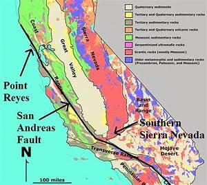 Geotripper  Where The Sierra Nevada Rises From The Sea