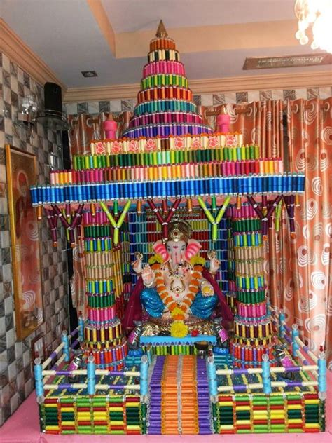 top 35 creative ganpati decoration ideas for home that