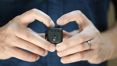 Fidget Cube Office Kickstarter Workers Fidgety Trance