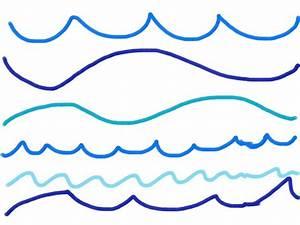 Image Gallery ocean wave line drawing