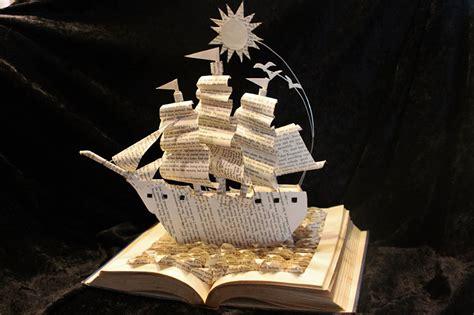 stories  books   life  paper sculptures