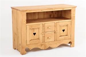 Meuble en pin massif cuisine en image for Petite cuisine équipée avec meuble de salle a manger en bois massif