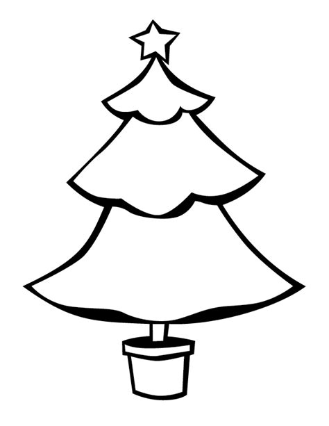 christmas picture outline tree outlines gift of curiosity