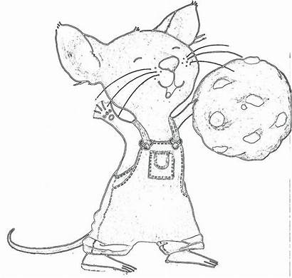 Mouse Cookie Coloring Give Pages Take Template
