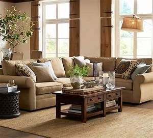 staggering pottery barn decorating ideas images in With pottery barn living room designs