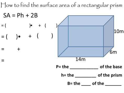 Surface Area Of A Cube And Rectangular Prism  Ppt Video Online Download