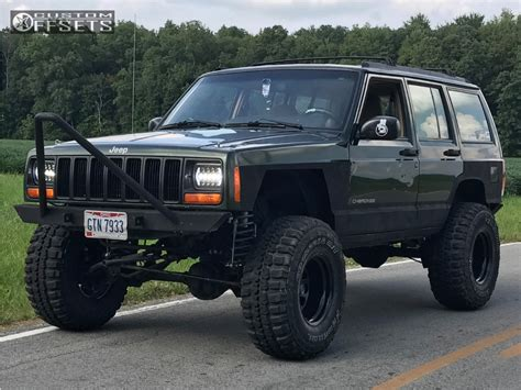 jeep xj lifted 1997 jeep cherokee pro comp 51 rubicon express super flex