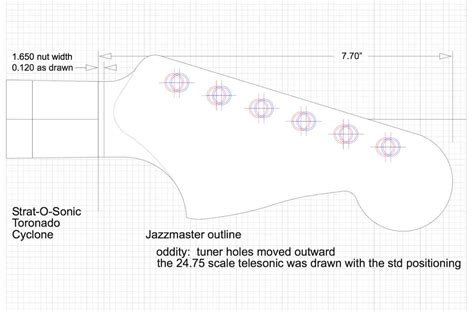 The Pdf Template Fender Stratocaster Standerd Headstock by Fender Jazzmaster Guitar Templates Electric Herald