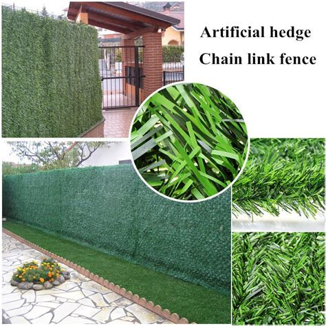 sqm artificial hedge grass fence pcs mm fake fence