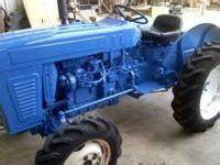 30hp Tractor And Shredder