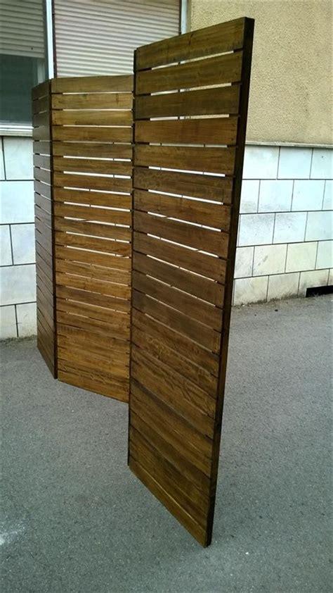 upcycled pallet room divider wooden pallet furniture room partition wall pallet room room
