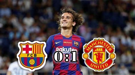 BARCELONA VS MANCHESTER UNITED ( 0 : 1 )🔥🔥 [ Pes 2020 ...