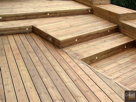 leds dans une terrasse bois gueret creuse 23 escaliers
