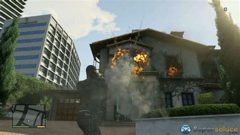gta v attaquer la maison de michael attack on michael s house easter egg