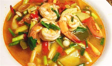 recette de cuisine thailandaise la recette thailandaise du tom yam kung allo thailande
