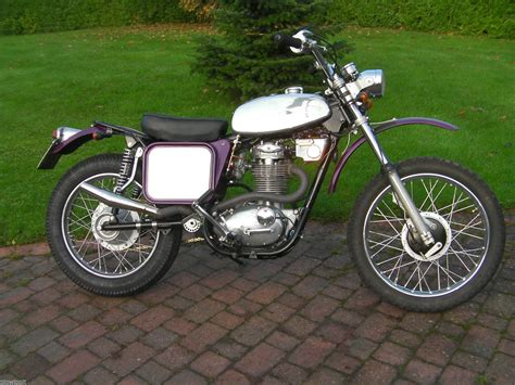 Bsa B50t Mx Type Motocross Motorcycle Matching Numbers 1971
