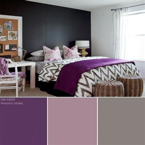Purple Color Schemes For Bedrooms by Best 25 Purple Color Schemes Ideas On Purple