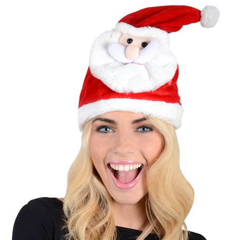 adults musical moving novelty santa hat quot merry shout quot