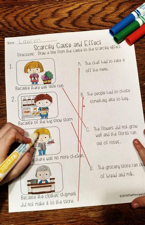 scarcity economics unit worksheets