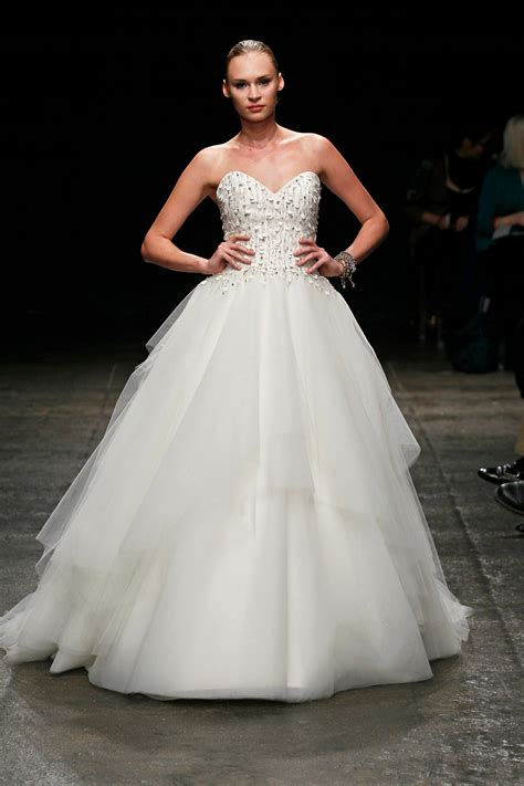 Top 4 Wedding Dresses Of The Week Ball Gown Edition Glamour