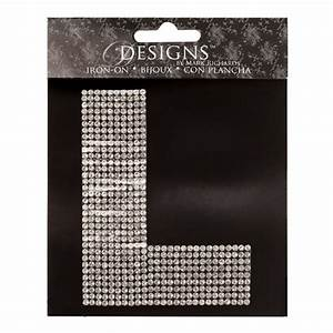 rhinestone letter transfers l bling iron ons With large letter transfers