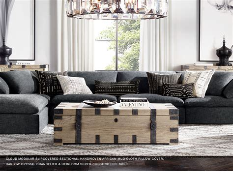 Restoration Hardware Living Room Pillows by Restoration Hardware Explore The Heirloom Collection And