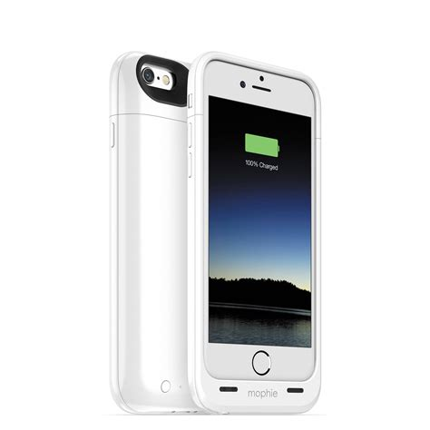 for iphone 6 mophie juice pack air for iphone 6 6s white 3044 b h photo