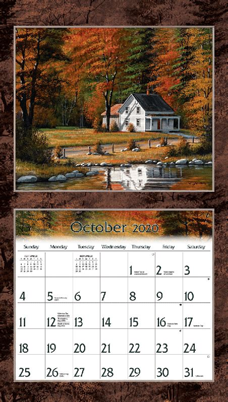 road home wall calendar lang store