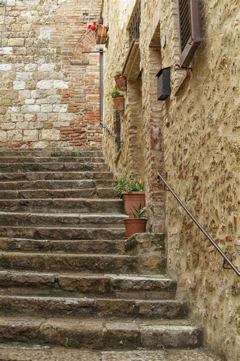 stone stairs  italy architecture  creative