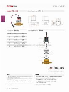 Toilet Flush Water Solenoid Valve Sensor Sanitary Flow