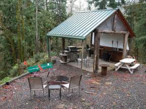 Picnic Shelter with Fire Pit