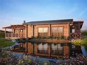 Maison Rondin Bois : maison en rondins de bois martin braase photo n 20 ~ Melissatoandfro.com Idées de Décoration