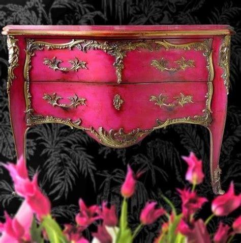Badezimmermöbel Streichen by Kommode In Pink Und Gold Streichen M 246 Bel Gestalten Ideen
