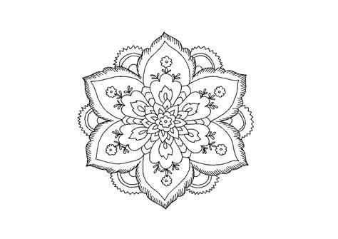immagini di fiori da stare e colorare disegni da colorare kawai