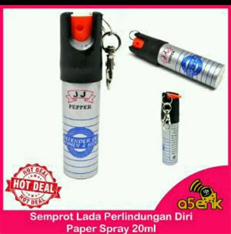 lada spray jual semprot lada alat perlindungan diri pepper spray self