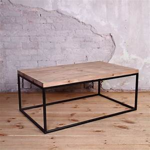 industrial style coffee table by cosywood With industrial look coffee table