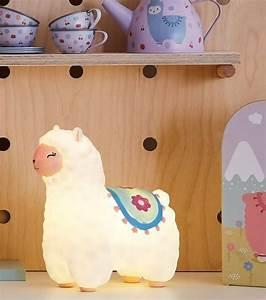 Veilleuse Chambre Bébé : veilleuse en forme de b b lama mignon ~ Melissatoandfro.com Idées de Décoration