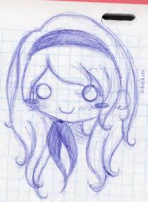 Cute Chibis Girls Drawings
