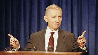 Ross Perot donated to Trump's re-election campaign before death..