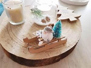 Decoration Buche De Noel Maison : ma d coration de no l du bois blanc et argent ~ Preciouscoupons.com Idées de Décoration