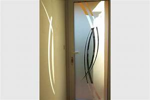 Moustiquaire Porte D Entrée : porte entree vitree pvc sablee courbes gma fen tres ~ Melissatoandfro.com Idées de Décoration